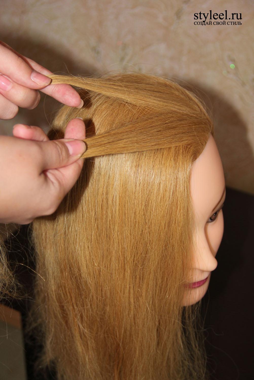 Фото уроки по укладке волос