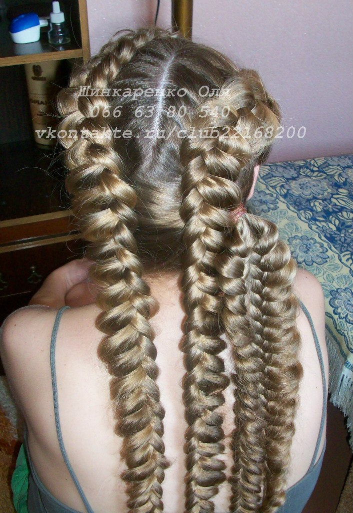 Плетение кос мастер на дом