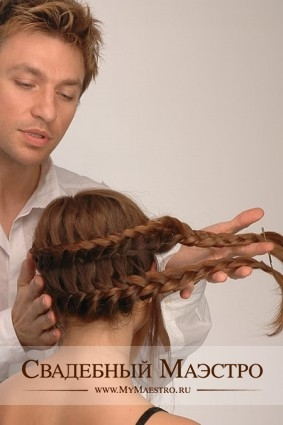 Мастер класс по прическам на длинные волосы с косами