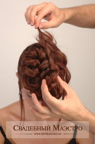 Вечерние прически для девочек - стрижки на длинные волосы фото.